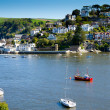 Kingswear in Devon, England, on the River Dart - Stock Photo
