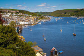 A view of Dartmouth in Devon, England — Stock Photo