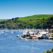 A view from Dartmouth to Kingswear — Stock Photo