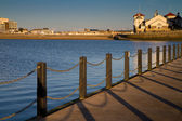 The Causeway at Marine Lake Weston-super-Mare — Stock Photo
