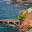 Stock Photo: Jetty on LIzard peninsula