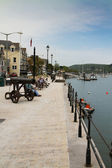 The quay at Dartmouth — Stock Photo