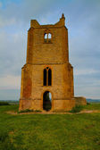 Burrow Mump in Somerset — Stock Photo