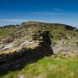 A view from Tintagel Castle in Cornwall-2 — Stock Photo