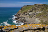 A view from Tintagel Castle in Cornwall — Stock Photo