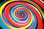 Colorful Swirly Background — ストック写真