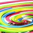 3d Colorful Swirly Background — Stock Photo #10375169