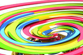 3d Colorful Swirly Background — Stock Photo