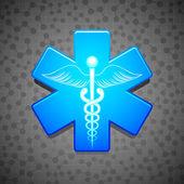 Vector Medical Symbol — Stock Vector