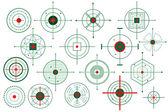 Vector Target Crosshair — Stock Vector