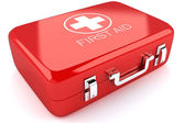 First Aid Box — Foto de Stock
