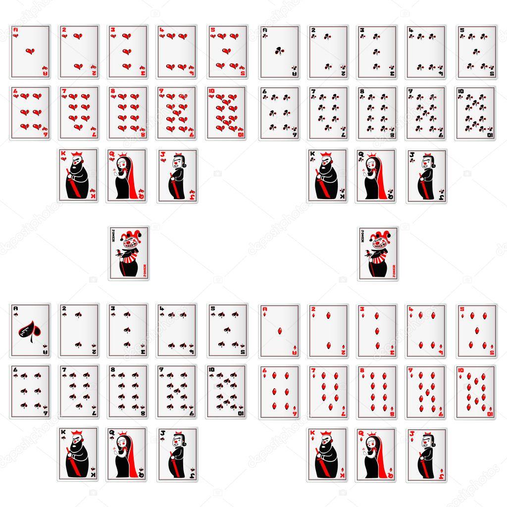 изображения игральных карт: