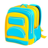 School Bag — Stock Vector