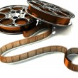 Foto Stock: 3d Film Reel