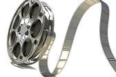 3d Film Reel — Stock Photo