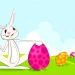 Vector Easter Bunny — Stock Vector
