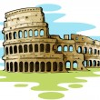 Royalty-Free Stock Vector Image: Roman Colosseum