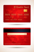 Vector Credit Card — Stock Vector