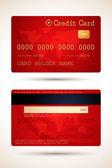 Vector Credit Card — Stock Vector