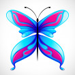Colorful Butterfly — 图库矢量图片