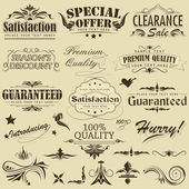 Vintage Premium Qaulity Label — Stock Vector