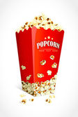 Pop Corn — Vector de stock