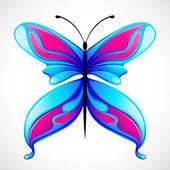 Farfalla colorata — Vettoriale Stock