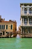 View of Venice canals — Stock Photo