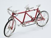 Red bicyle for two — Stock Photo