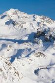 French Alps ski resort — Stock Photo