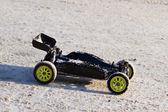 RC buggy car on snow — Stock Photo