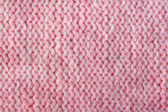 Pink color wool knitted background closeup — Stock Photo