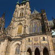 Стоковое фото: St. Vitus cathedral in Prague