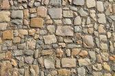 Granit kullerstensbelagd trottoaren bakgrund — Stockfoto