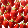Strawberry pattern — Stock Photo