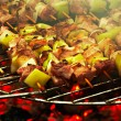 Royalty-Free Stock Photo: Grilled meat on a barbecue