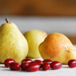 Autumn pears - Stock Photo