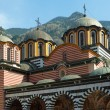 Stock Photo: Domes of Rilmonestery church