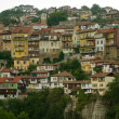 Veliko Tarnovo - old houses — Stock Photo