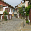 Stock Photo: Street in old part of Triavna