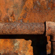 Stock Photo: Rusty steel pipe