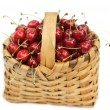 Royalty-Free Stock Photo: Cherry-basket