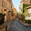 Stock Photo: Street in old Aix en Provence