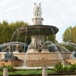 Fountain La Rotonde in Aix en Provence — Stock Photo