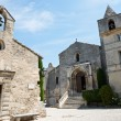 图库照片: Church and cethedral in Baux de Provence