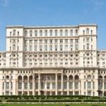 Part of Romanian parliament — Stock Photo