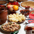 Stock Photo: Traditional BulgariChristmas food