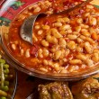 Stock Photo: Bulgariharicot stew dish