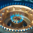 Gas burner — Stock Photo
