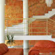 Royalty-Free Stock Photo: Interior in orange color